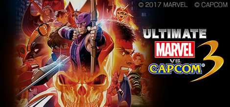 ULTIMATE MARVEL VS CAPCOM 3 Download Header